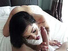 Massive cock drills karmen karma's holes
