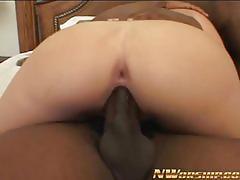 Blonde needs two black dicks to feel satisfied