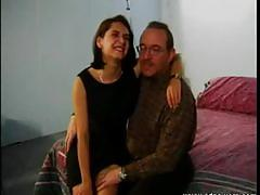 Classic sweet talking of horny mature couple