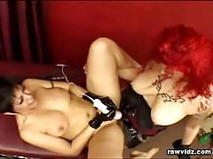Sex slaves satin and soma strapons and sex toys