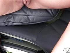 Smoking hot anita dark outdoor masturbation