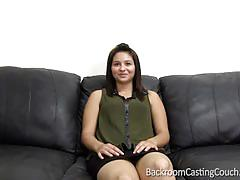 Mariah's first anal on the casting couch