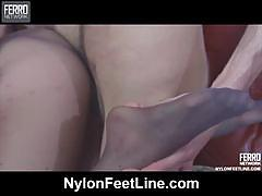 Judith fucked in nylons