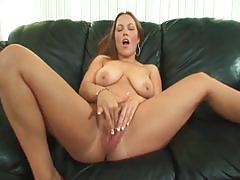 Monster black cock drilling busty brunette momma