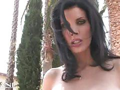 Sexy shay sights outdoors masturbation