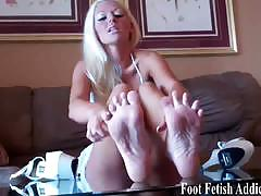 Foot fetish addiction compilation