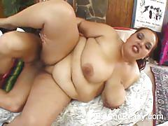 Bbw brunette elizabeth rollings gets banged hard