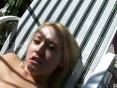 Tina marie dildo fucked in her wet pussy by her bf