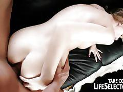 Hot blonde belle gets banged pov style into heaven