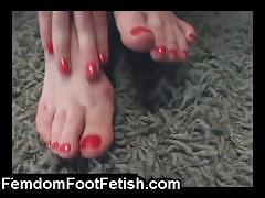 Sweet and sexy blonde rosy shows off her cute feet