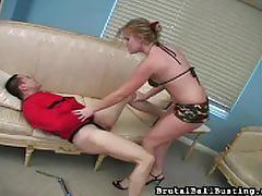 hayden night, brunette, bdsm, bondage, mistress, torture, humiliation, femdom, ball busting, cock torture, painful