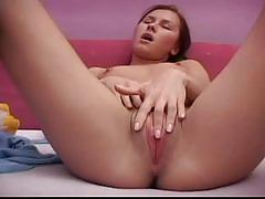 Sweet solo video of this hot babe