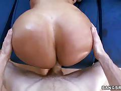 Huge ass latina outdoor fuck