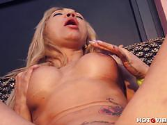 Spanish milf ginger hell gets off with hotgvibe