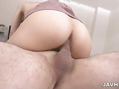 Tsuna kimura nice action of asian sex threesome
