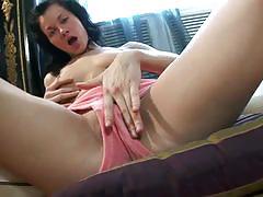 Nubiles cherri lets her stud torture her pussy.