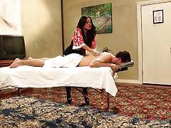 Kaylani lei sensual massage and anal fuck