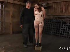 Cute maggie mead spanked hard