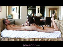 Presley dawson gets a creampie in her erotic dream