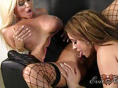 "Sexy eva notty & nikita von james getting ""notty"""