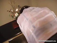 Hot belle gets tied and humiliated by her master