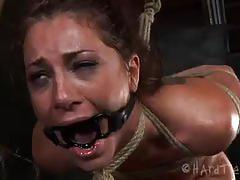 Cici rhodes tied, gagged and tortured