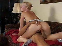 Horny blonde bitch and her ass-fucking adventures
