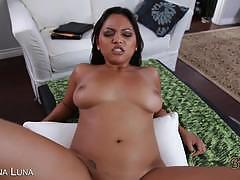 adriana luna, brunette, hardcore, big tits, busty, reverse cowgirl, doggy style, latina, cowgirl, big boobs, huge tits, black hair, latin, missionary