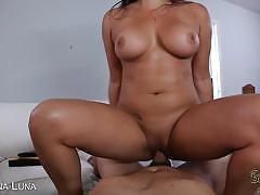Adrianna luna cunt fucked pov style