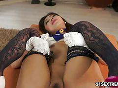 Marica hase gets her ass blasted pov style