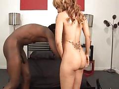 Large black dick loves pumping her sweet ass