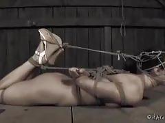 Surprising rope bondage for wenona