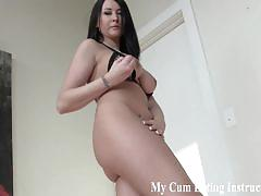Gorgeous and wild femmes make you eat cum