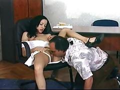 Slut gets nailed by her boss