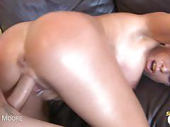 Jessica moore's wild fuck and facial
