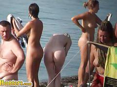 Hidden cam voyeur video of lovely european babes