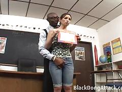 Detention means ass fucking for amber rayne