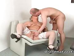 Horny grannies love dicks on their pussies