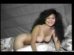 Susan yama poses naked and provokes with her body