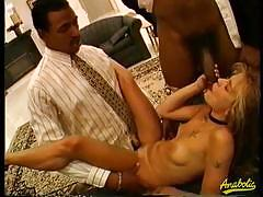 Candi and lana get banged by their pimps