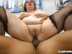 Slutty fat girl april mckenzie interracial fuck