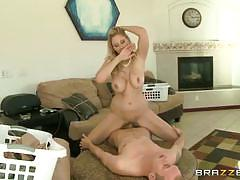 Busty blonde milf julia ann  gets banged  hard