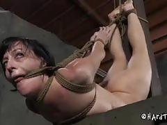 Elise screams as she gets tortured