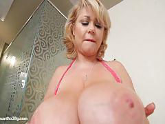 big tits, blonde, busty, big nipples, masturbation, fat, solo, posing, naked, chubby, bbw, jerking, chunky, plumper, teasing, masturbating, striptease, jerking off