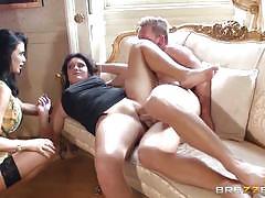 Emma leigh & jasmine jae share cock