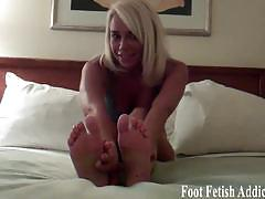 Evil dommes tease you with their hot feet