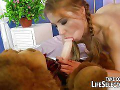 Nikky thorne sexually punished by her step mom