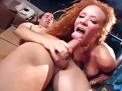 Audrey hollander gets brutally double penetrated