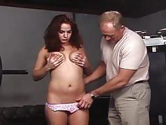 Big dick loves red head madness