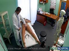 Blonde with amnesia pounded by her doctor